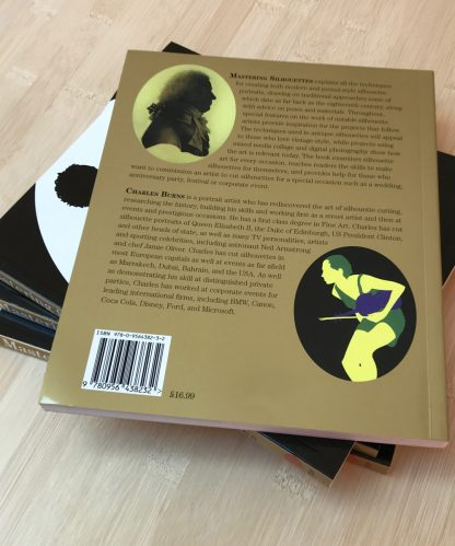 Back cover of Mastering Silhouettes