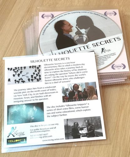 Back cover of Silhouette Secrets DVD