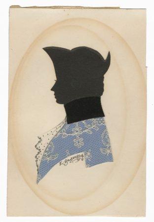 Man in a tricorn hat by Elizabeth Baverstock