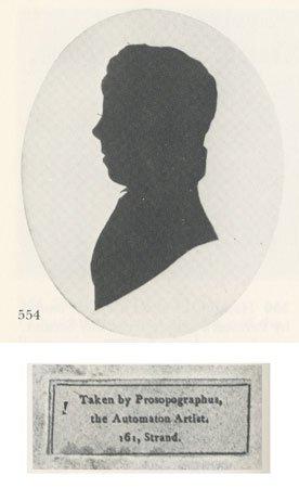 Label reads: Taken by Prosopographus, The Automaton Artist, 161 Strand