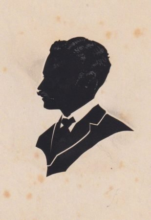 Silhouette of a man by April Fielding