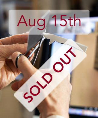 Aug 5th - sold out